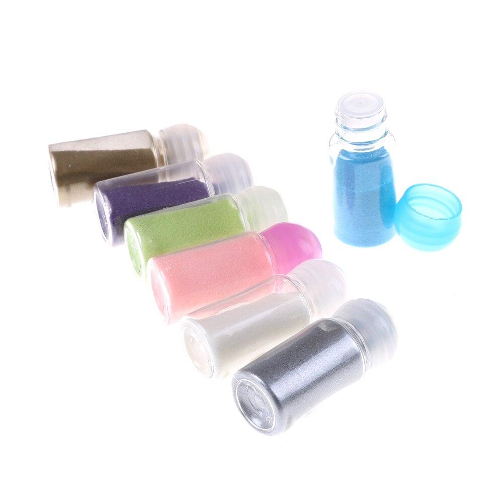 DIY Shiny Colour Embossing Pigment Stamping Scrapbooking Craft Metallic Paint Emboss Powder 10ml