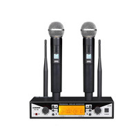 Finlemho Professional Microphone UHF Wireless Dynamic Vocal Home Studio Recording For Karaoke Professional Audio Mixer AS88