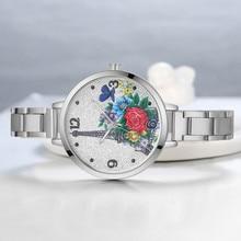 ff19c1e3535 Alegria relogio feminino Relógio de Pulso de Quartzo marca de luxo mulheres  Casuais horloges Paris torre