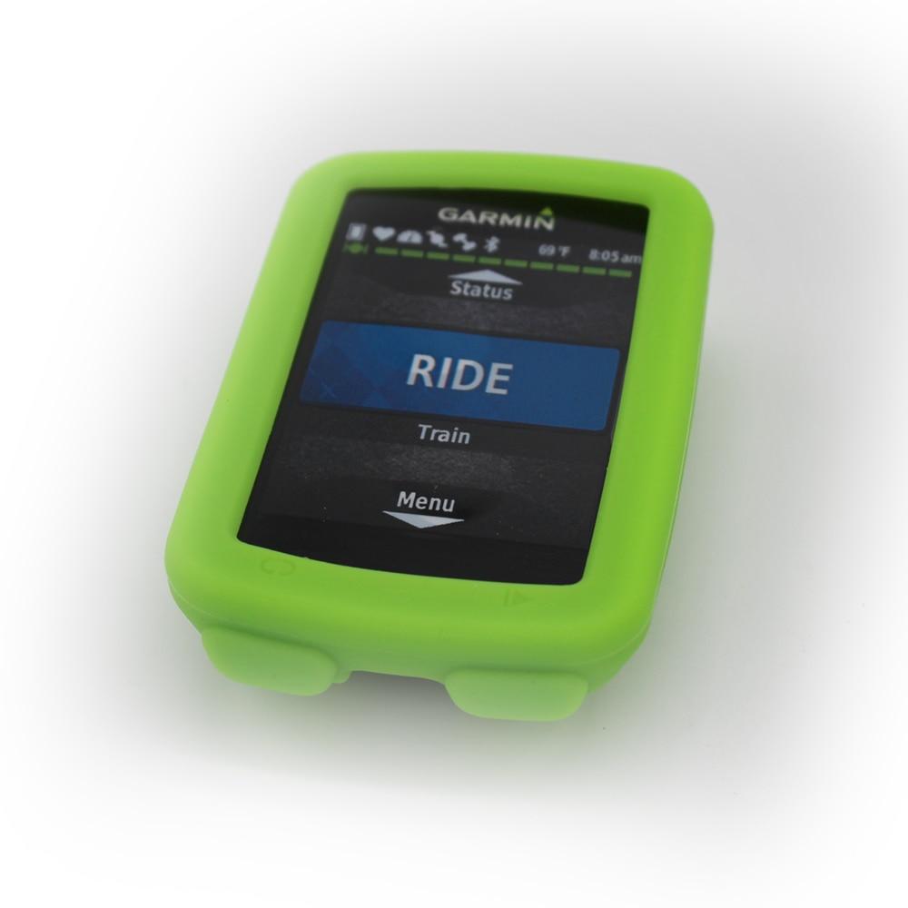 Garmin Edge 520Cycling kompüter üçün silikon kauçuk qoruyucu - Velosiped sürün - Fotoqrafiya 4