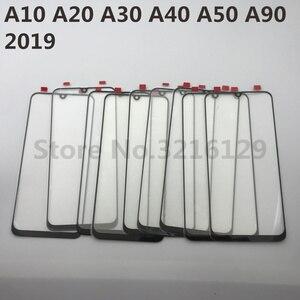 Image 4 - Do Samsung Galaxy A10 A20 A30 A40 A50 A60 A70 A80 A90 M10 M20 M30 oryginalny lcd ekran dotykowy przednia wymienny szklany panel