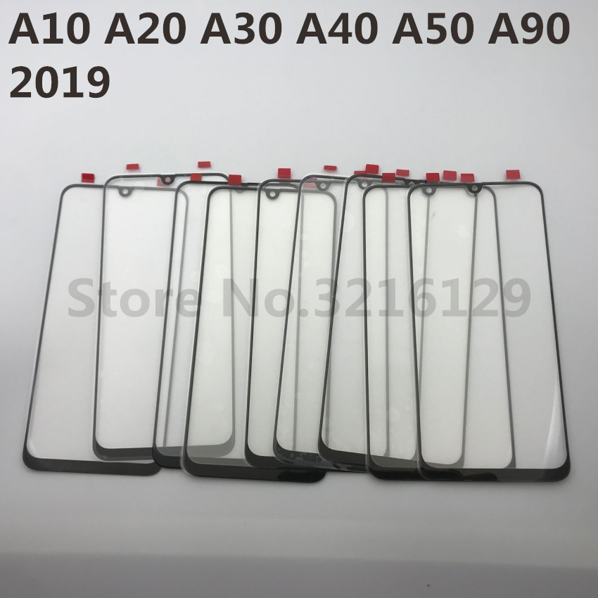 Image 4 - For Samsung Galaxy A10 A20 A30 A40 A50 A60 A70 A80 A90 M10 M20 M30 Original LCD Touch Screen Front Outer Glass Panel Replacement-in Phone Screen Protectors from Cellphones & Telecommunications