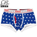 Hot 2017 cheap new candy Mr quality underpant fashion sexy brands men's boxers shorts colorful breathable cotton mans underwears
