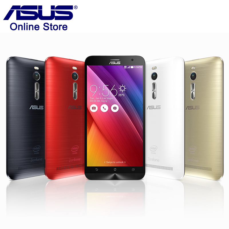 100 Original Asus ZenFone 2 ZE551ML 4GB RAM 32GB ROM Mobile Phone 5 5 Intel Quad
