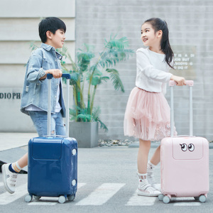 Image 5 - Xiaomi Mitu Suitcase Kids Travel Luggage Suitcase 17Inch Trolley Wheeled Suitcase With Cartoon Sticker For Girls Boys Traveling