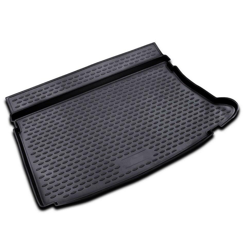 For Hyundai i30 2007-2011 car trunk mat Element NLC2028B11 waterproof anti slip car trunk mat protector cover car pet dog mat for hyundai tucson black