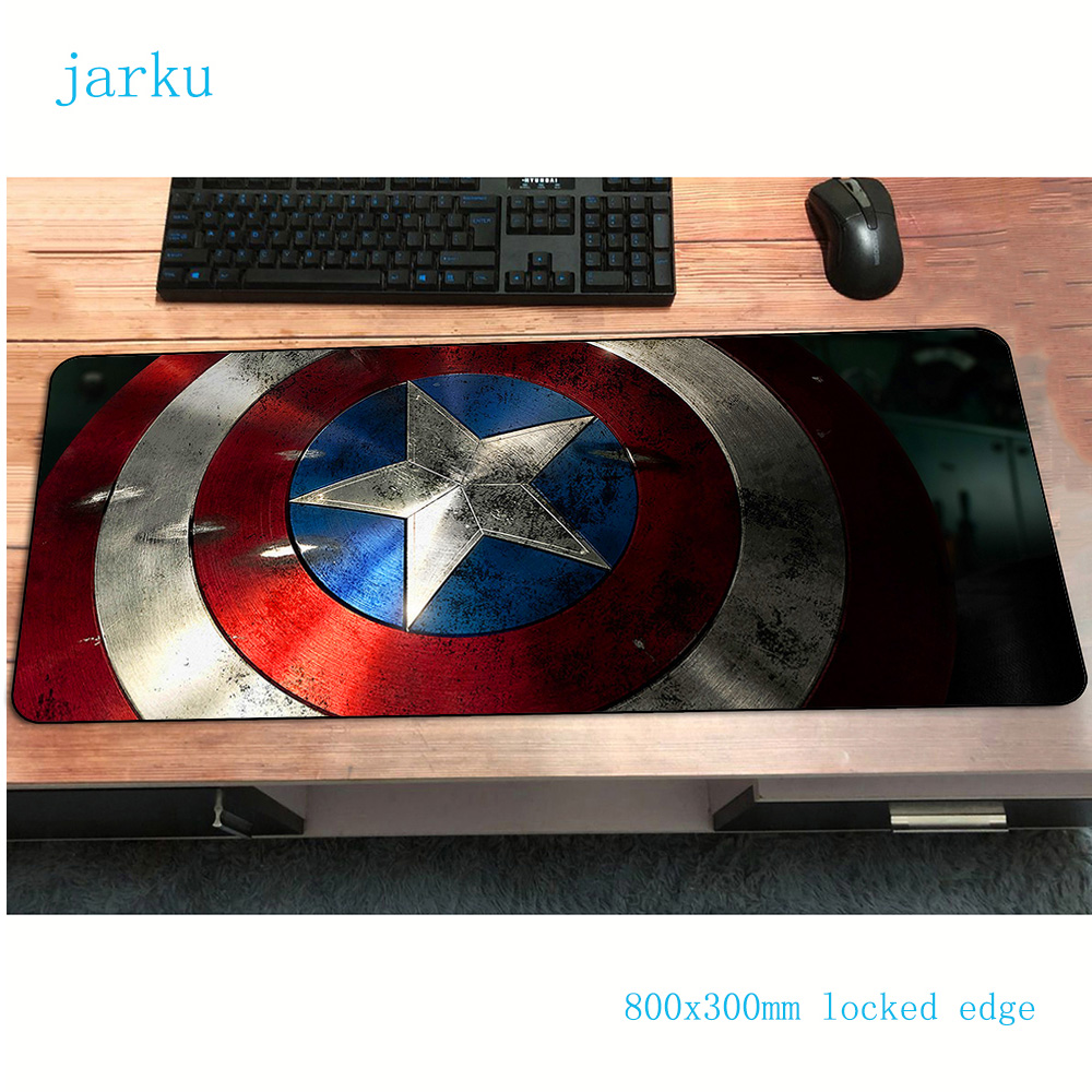 Avengers Mousepads 800x300x3mm Pad To Mouse Notbook Computer Mouse Pad Captain America Gaming Padmouse Gamer Keyboard Mouse Mats
