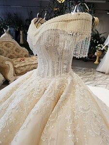 Image 3 - Aijingyu real preço bonito vestidos coleção longa cauda barato online royal suzhou vestidos na moda o vestido de casamento