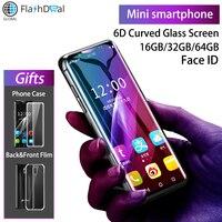 K Touch I10 супер мини 4G мобильный телефон MTK6737 четырехъядерный 3,46 дюймовый изогнутый экран смартфон 3 Гб 64 ГБ Android 8,1 мобильный телефон