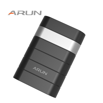 Arun 7500mah mobile portable charger comfortable soft touch design power bank for iphone 7 6s samsung.jpg 350x350