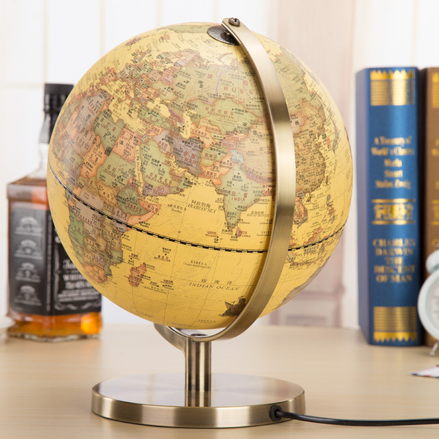 metal 32cm HD antique desk lamp globe 2015 edition of European style of the  ancient home - Metal 32cm HD Antique Desk Lamp Globe 2015 Edition Of European Style