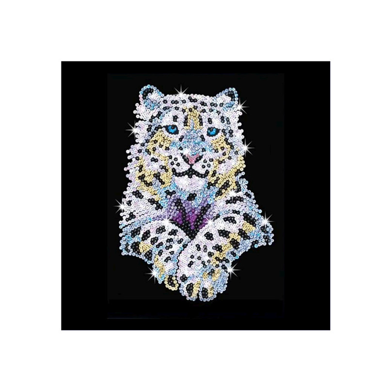 CaiLong1990 New 5d DIY Diamond Cross Stitch Cartoon Tiger Embroidery Mosaic Painting Rhinestone Decoration