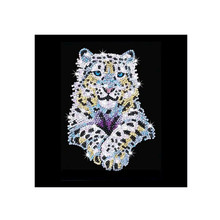 CaiLong1990 New 5d DIY Diamond Cross Stitch Cartoon Tiger Embroidery Mosaic Painting Rhinestone Decoration