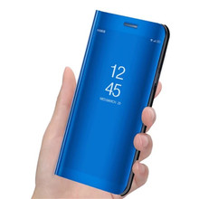 For OPPO RX17 Neo Case Flip Mirror Stand