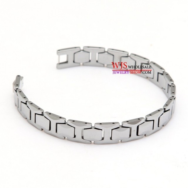 tungsten carbide Men's Tungsten Steel bracelet Carmen bracelet Fashion brand Hot selling no stone man bracelet