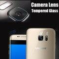 Para iphone 7 lente de la cámara protector de cristal para samsung galaxy s7 s6 edge plus borde protector de pantalla de vidrio templado para linterna