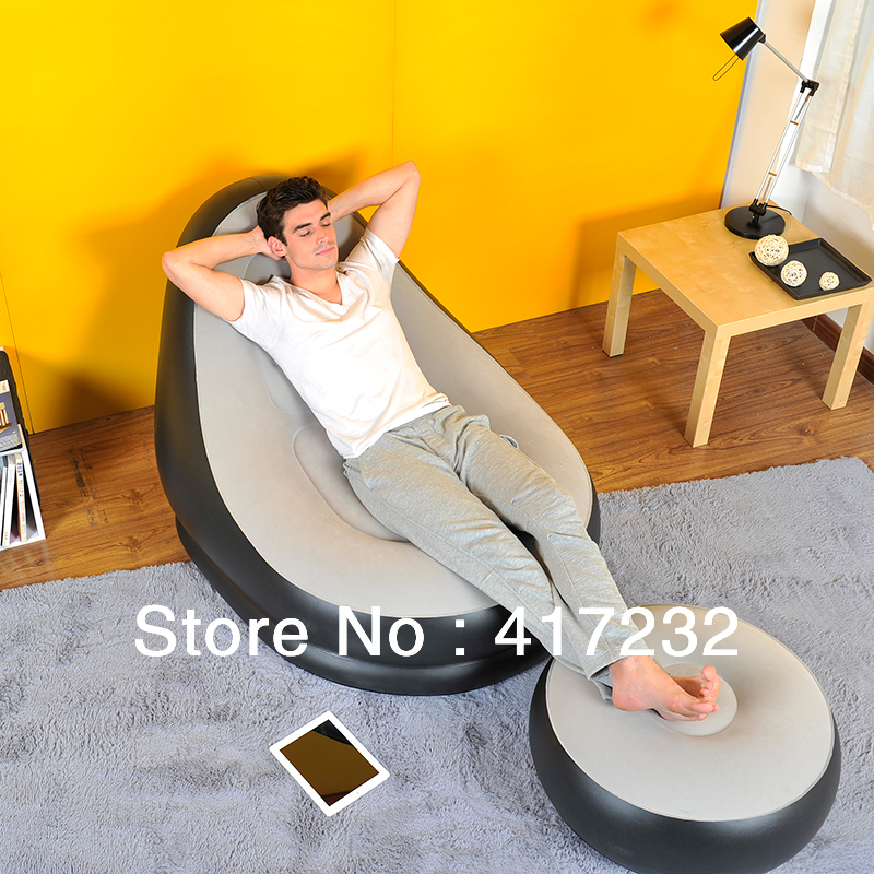 Outstanding Us 55 8 Cheap Inflatable Sofa With Footrest Inflatable Chair With Electric Pump In Living Room Sofas From Furniture On Aliexpress Com Alibaba Onthecornerstone Fun Painted Chair Ideas Images Onthecornerstoneorg