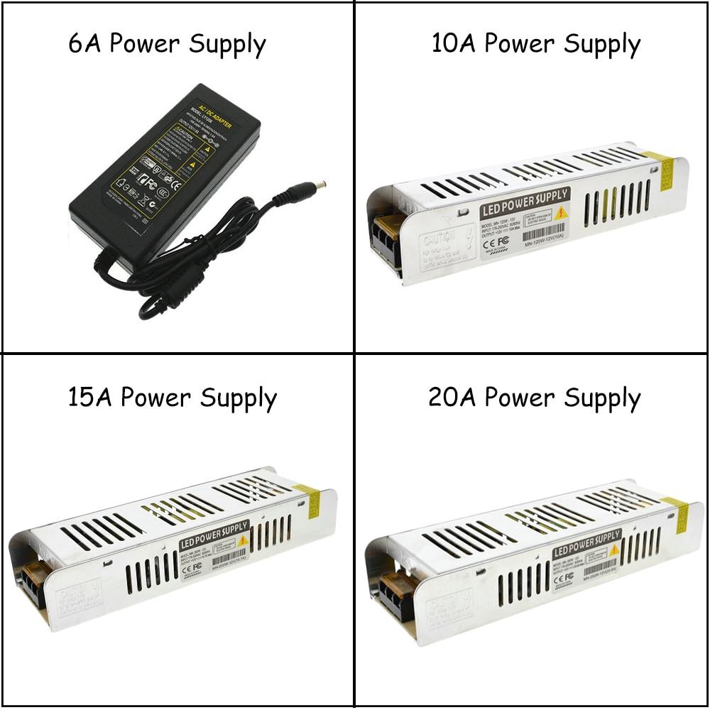 5//10M 5050 RGB led SMD Flexible Light Strip+IR 44Key+Power SuppyTape Strip Light