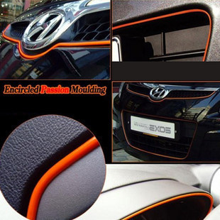Image 3 - 5 meters Decorative thread sticker indoor pater car body decals styling tags car styling accessory-in Car Stickers from Automobiles & Motorcycles