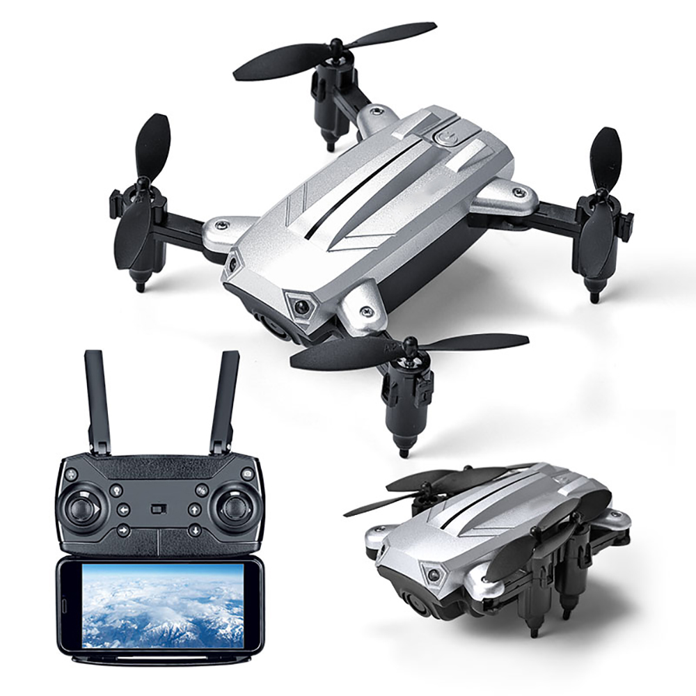 New Remote Control Airplane KY301 Mini Portable Collapsible Drone Altitude Hold WIFI Real-time Aircraft FPV Quadcopter Pocket image