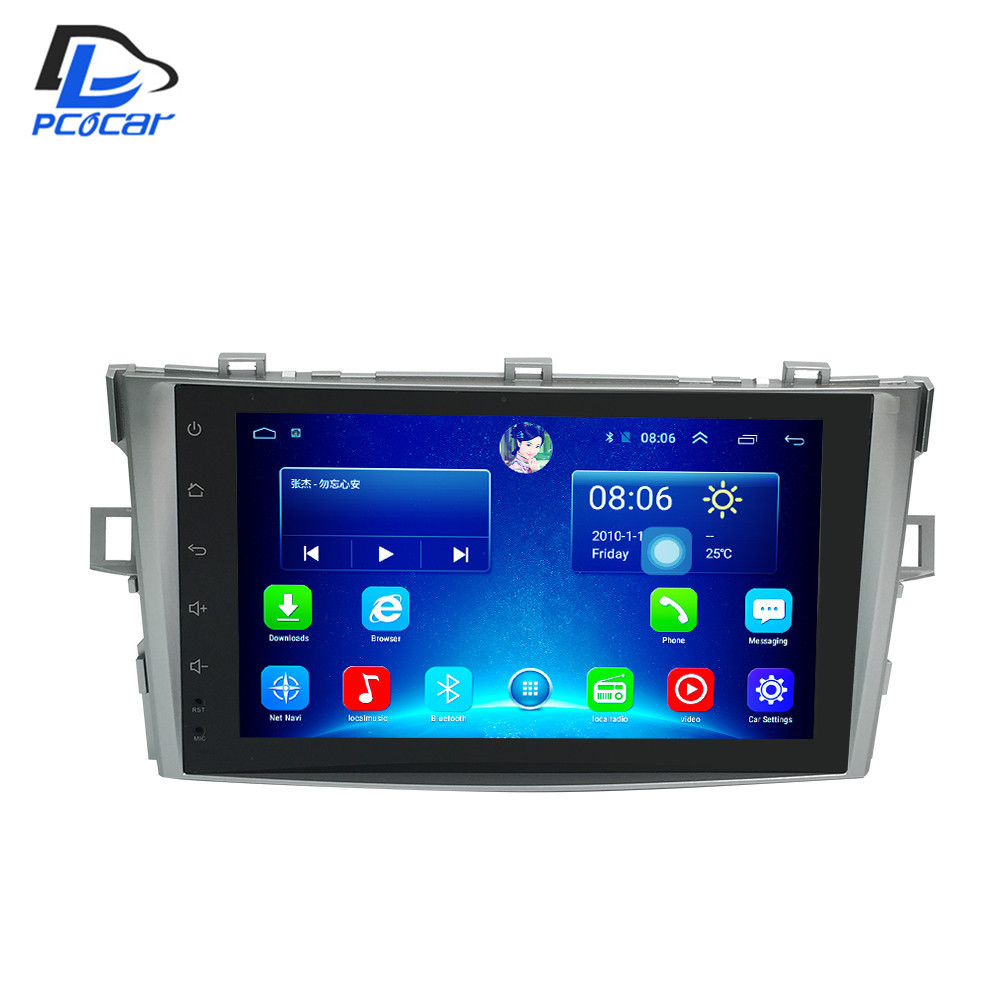 32G ROM android 6 0 car gps multimedia video radio player in dash for TOYOTA AVENSIS