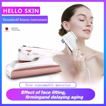 MINI HIFU Multifunctional Skin Care Ultrasonic Facial Beauty Instrument Facial Rejuvenation Anti Aging/Wrinkle Beauty Machine rechargeable anti aging pore cleanse skin firming 3 colors photon light ultrasonic ion vibrating massage facial skin care device