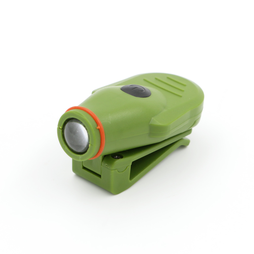 Mini Black Cap Clip-On Lamp CR2032 button batteries Caplight Out door Fishing Camping Hunting Light Emergency Head Light