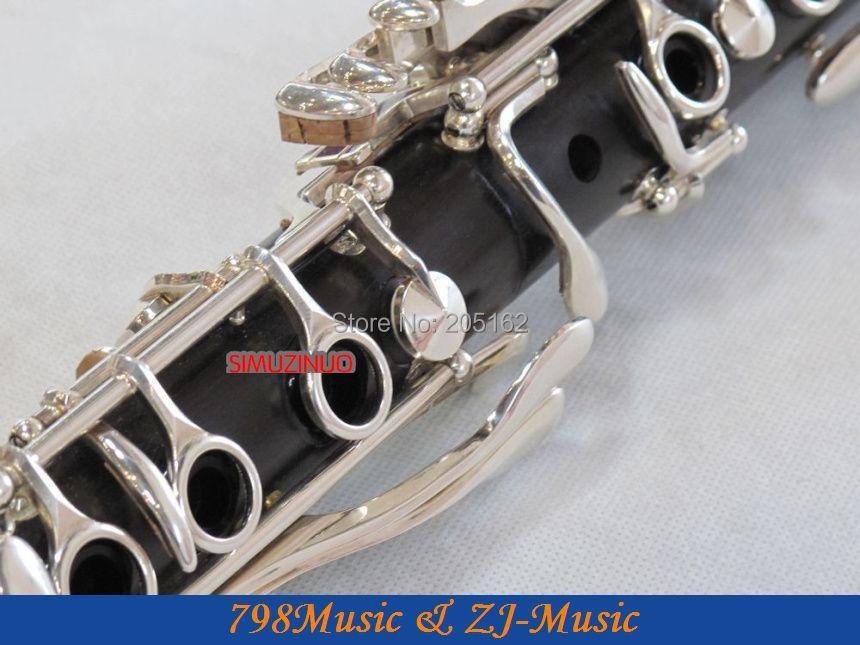 Grenadilla Druri i Zi prej druri-Një klarinetë-NEW AAAAA - Instrumente muzikore - Foto 4