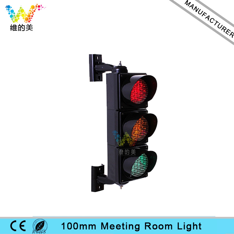 100mm PC Cobweb Lense DC 12V Meeting Room Timing Hotel Parking Signal Light