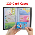 Business Portable Credit Card Holders High Quality Leather 120/160/180/240/300 Bank Card Case Holder Organizer Book