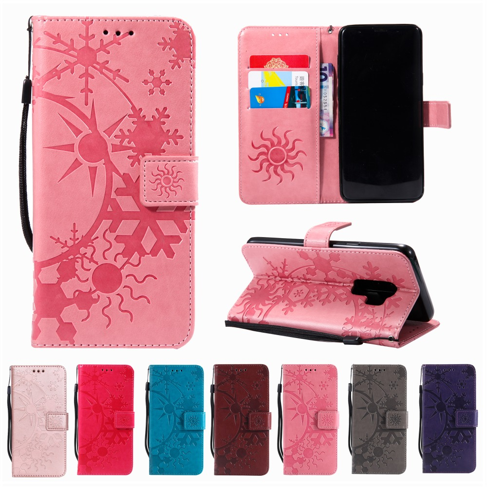 S8 S9 Plus S3 S4 S5 Mini S6 S7 Edge Leather Flip Cover Wallet Phone Cases For Samsung Galaxy Note 3 Note 4 Note 8 G360 G530 Bags
