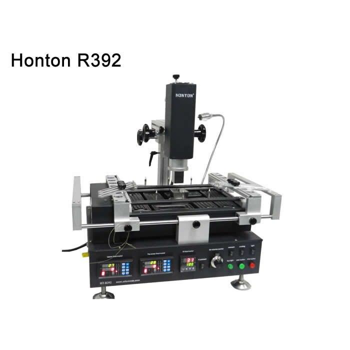 Hot air HONTON HT R392 bga rework station,bga reballing machine for repairing computer chips