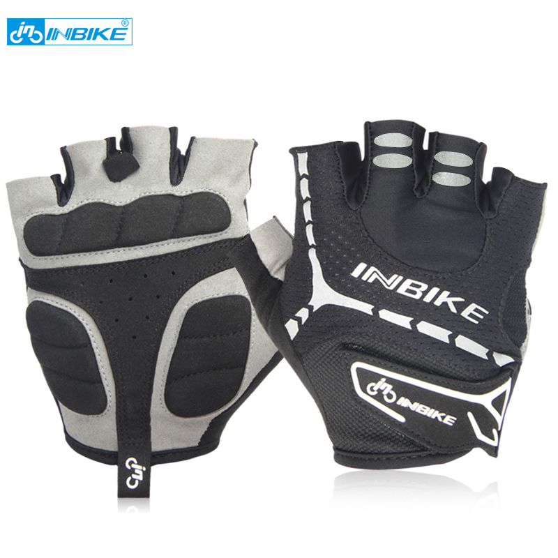 Cycling Gloves Half Finger Gel Pad Bicycle Gloves  Breathable Racing Bike Gloves women and men MH206