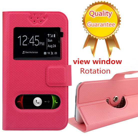 HotSell! 360 Degree Rotation Fly IQ436i Case, Fashion Flip PU Leather Stand Phone Cases for Fly IQ436i Era Nano 9