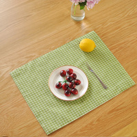 2016 New Sale Cotton Table Placemats Korean Style Handmade Washable Home Napkins Dinner Pads