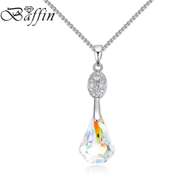 Baffin new original crystals from swarovski teardrop necklaces baffin new original crystals from swarovski teardrop necklaces pendants link chain collares for women jewelry aloadofball Gallery