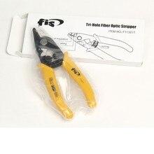 America FIS F11301T trois pinces à fibres Miller, pinces à dénuder à fibre optique, dénudant le revêtement des pinces à dénuder les fibres