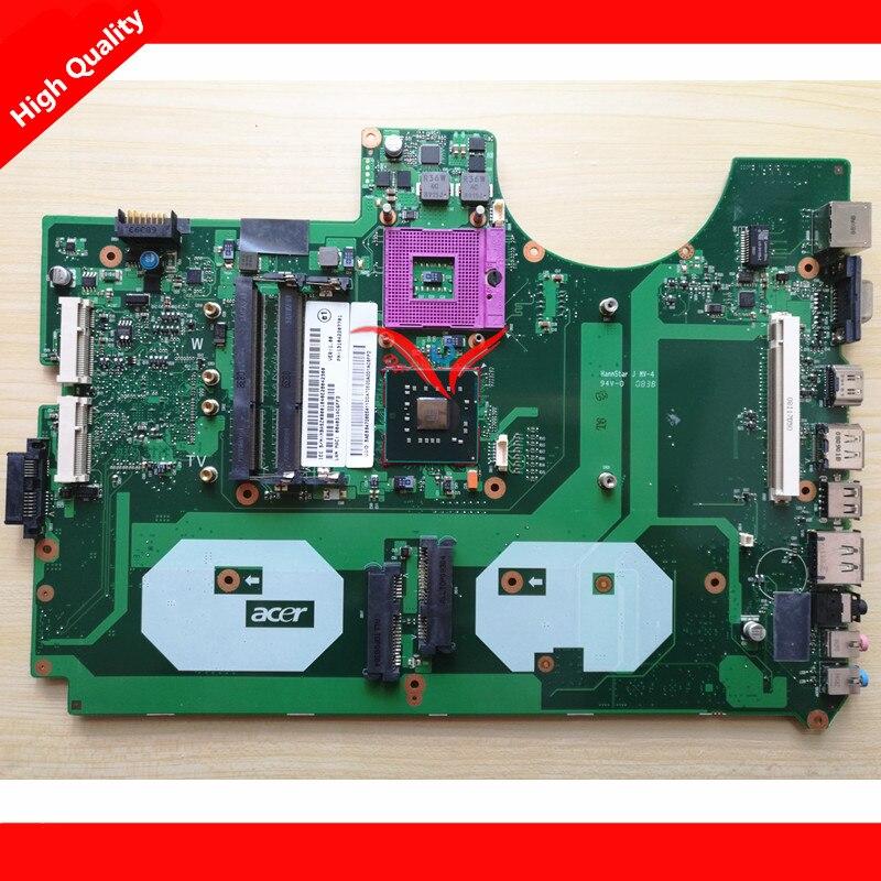 все цены на  Original laptop motherboard for ACER Aspire 8930G MBASZ0B001 6050A2207701-MB-A02 PM45 DDR3 Fully tested  онлайн