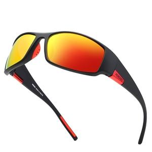 Image 3 - KDEAM Brand Mens Polarized Sunglasses TR90 Rectangle Coating Driving Glasses Sport Goggles Gafas De Sol KD111