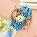 Fashion Watches Unisex Wooden Watches for Men Women High Quality Retro Wood Quartz Watch with Vintage Leather Watch W243