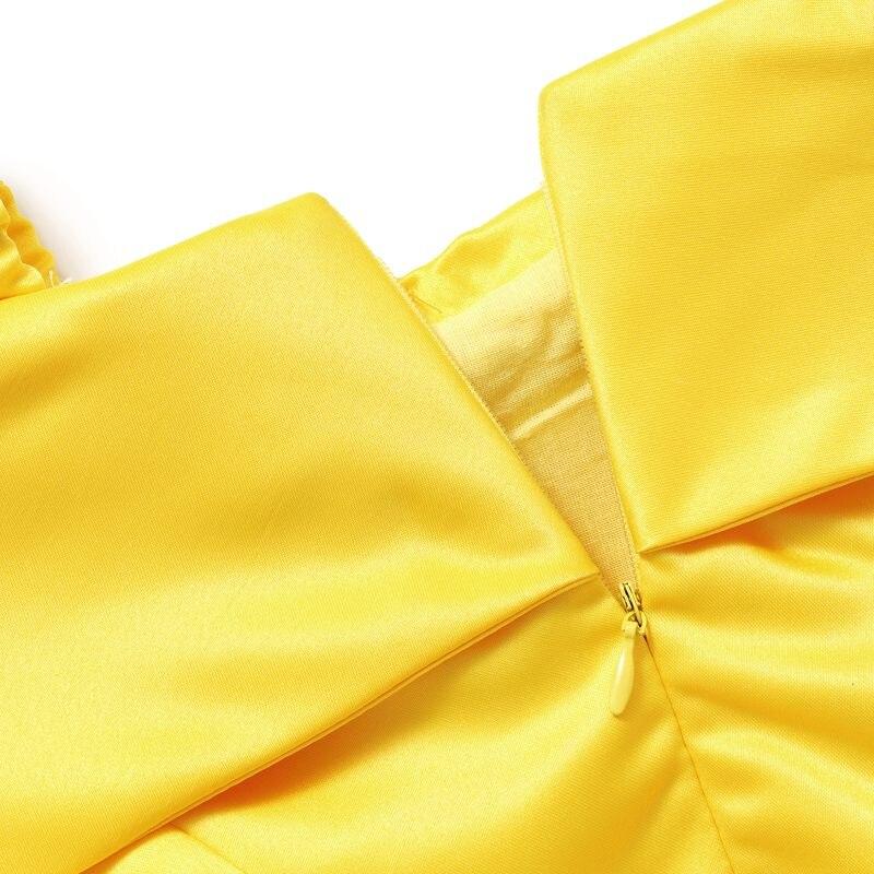 3fabb14735693 MUABABY Girls Princess Belle Dress up Costume Kids Sleeveless Yellow Party  Dress Children Girl Carnival Xmas Birthday Ball Gown