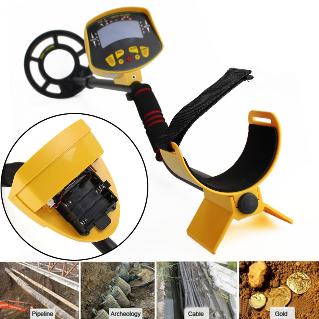 1pc New MD3010II  Metal Detector High Quality LCD Deep Ground Sensitive Metal Detector Light Hunter Digger the high ground imperials 1