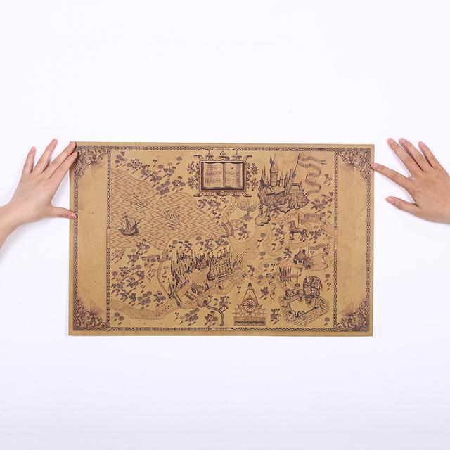 Harry Potter- Map Poster (33*51CM)