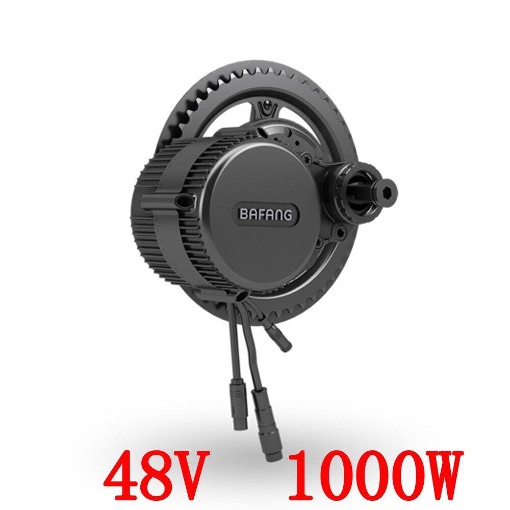 Bafang BBS03/BBSHD dernier modèle 48 V 1000 W Ebike moteur de vélo électrique 8fun mid drive kit de conversion de vélo électrique