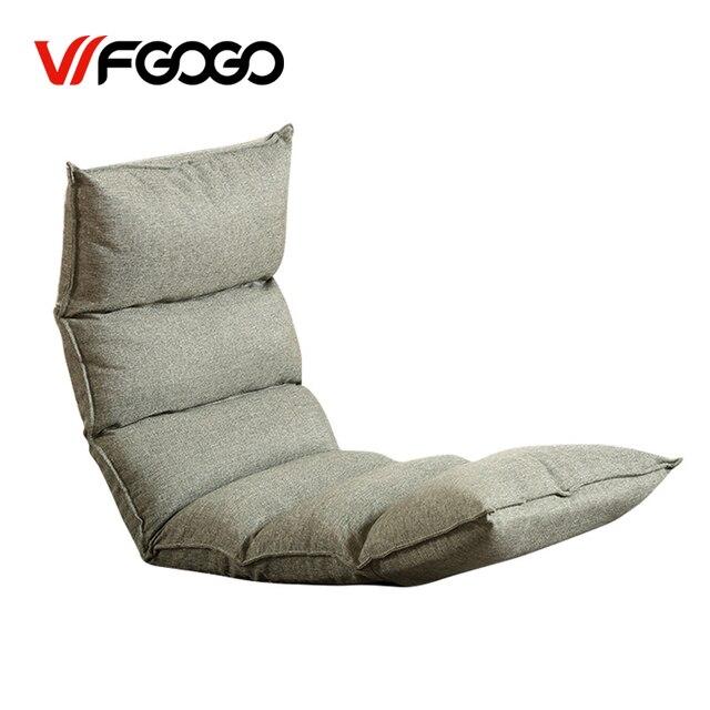Wfgogo Folding Sofa Bed Furniture Living Room Modern Lazy Couch Floor Gaming Chair Adju