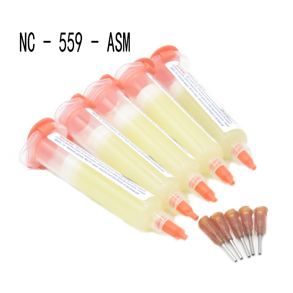 The High Quality  Help Solder Paste Solder Paste Flux NC - 559 - ASM Oil Cylinder Welding+Needles high quality pneumatic paste
