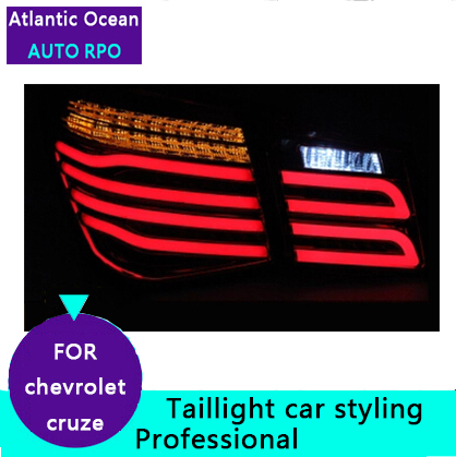 AUTO.PRO 2009-2014 for chevrolet cruze led taillights for chevrolet CRUZE led rear lights car styling GLK model rear trunk lamp