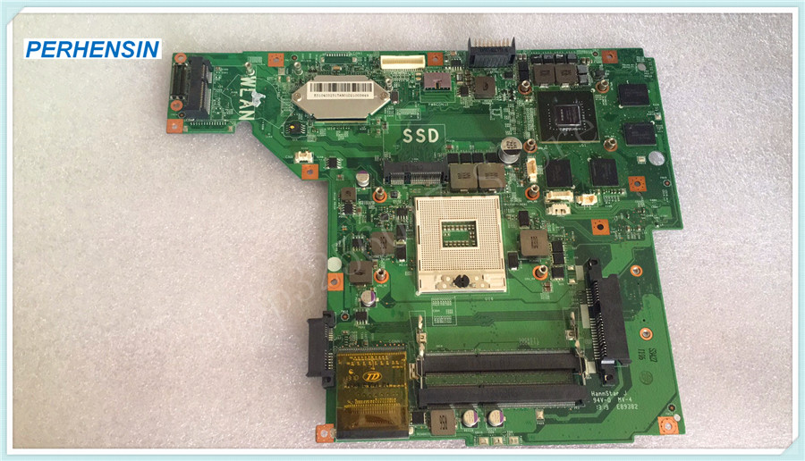 For MSI GE60 Laptop Motherboard MS-16GA1 VER: 2.0 DDR3 Non-integrated