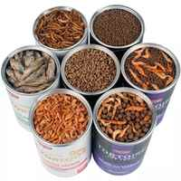 YEE Turtle Tortoise Reptile Food Feed Sticks Granules Dried Fish Shrimp Mealworm Aquarium Fish Food