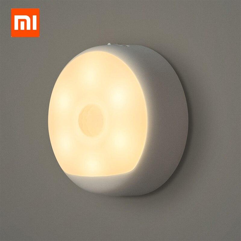 Xiaomi Mijia Yeelight Induction Night Smart Light With Smart Human Body Sensor Led Lamp Bed Lights For Bedroom Corridor